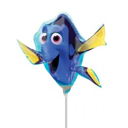 FINDING DORY MINI SHAPE A30 INFLATED WITH CUP & STICK