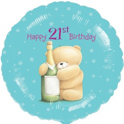 "FOREVER FRIENDS 21ST BIRTHDAY 18"" SALE"