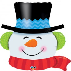 "SMILIN' SNOWMAN 36"" SHAPE GROUP B PKT"