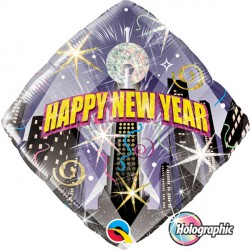 "NEW YEAR PARTY COUNTDOWN 18"" PKT"