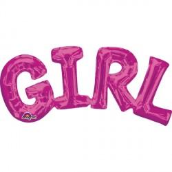 GIRL PINK PHRASE SHAPE S55 PKT