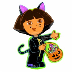 DORA THE EXPLORER CAT SHAPE P38 PKT
