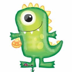 BOO CREW GREEN MONSTER SHAPE P35 PKT