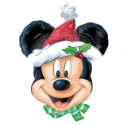 MICKEY CHRISTMAS SHAPE P38 FLAT