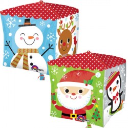 """HOLIDAY CHARACTERS CUBEZ G20 PKT (15"""" x 15"""")"""