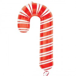HOLIDAY CANDY CANE SHAPE P30 PKT