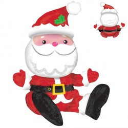 SITTING SANTA MULTI BALLOON A70 PKT