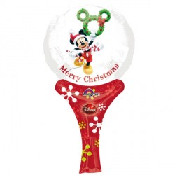MICKEY CHRISTMAS INFLATE A FUN A05 PKT
