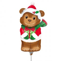 CHRISTMAS BEAR MINI SHAPE A30 FLAT