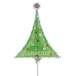 CHRISTMAS TREE MINI SHAPE A30 FLAT