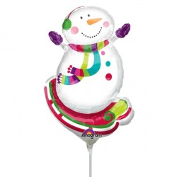 JOYFUL SNOWMAN MINI SHAPE A30 FLAT