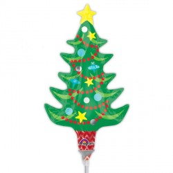 CHRISTMAS TREE & STAR MINI SHAPE A30 FLAT
