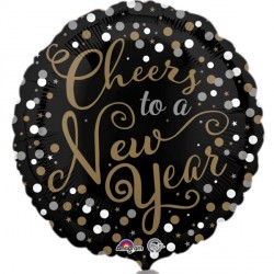 CONFETTI & CELEBRATION HAPPY NEW YEAR STANDARD S40 PKT
