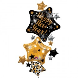 "STAR STACKER NEW YEAR SHAPE P60 PKT (37"" x 67"")"