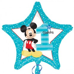 MICKEY MOUSE 1ST BIRTHDAY STANDARD S60 PKT