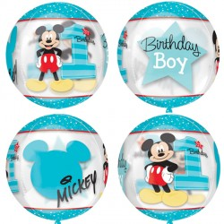 MICKEY MOUSE 1ST BIRTHDAY ORBZ G40