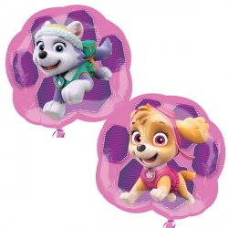 PAW PATROL SKYE & EVEREST SHAPE P38 PKT