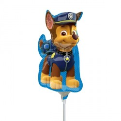 PAW PATROL CHASE MINI SHAPE A30 INFLATED WITH CUP & STICK