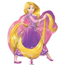 DISNEY PRINCESS RAPUNZEL SHAPE P38 PKT