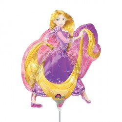 DISNEY PRINCESS RAPUNZEL MINI SHAPE A30 FLAT