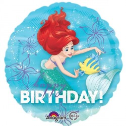 DISNEY PRINCESS ARIEL DREAM BIG BIRTHDAY STANDARD S60 PKT
