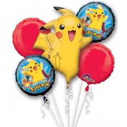 POKEMON GROUP 5 BALLOON BOUQUET P75 PKT (3CT)