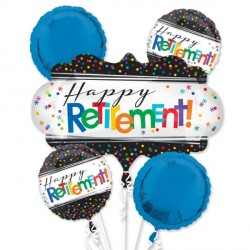 OFFICIALLY RETIRED 5 BALLOON BOUQUET P75 PKT (3CT)