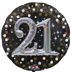 SPARKLING CELEBRATION 18 MULTI BALLOON SHAPE P75 PKT