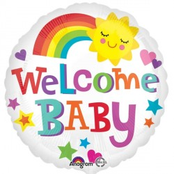 WELCOME BABY RAINBOW STANDARD S40 PKT