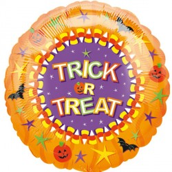 "TRICK OR TREAT 2 18"" SALE"