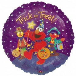 "SESAME STREET TRICK OR TREAT 18"" SALE"