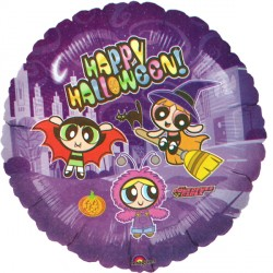 "POWERPUFF GIRLS HALLOWEEN 18"" SALE"