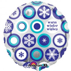 "WINTER WISHES SNOWFLAKE 18"" SALE"
