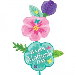 FANCY FLOWER MOTHER'S DAY SHAPE P70 PKT