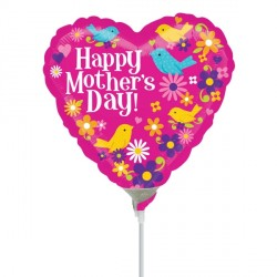 """BIRDS MOTHER'S DAY 9"""" A15 FLAT"""