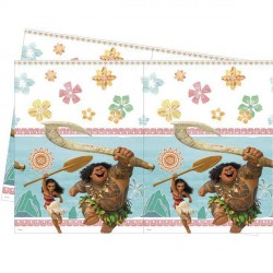 MOANA TABLE COVER (1CT X 6 PACKS)