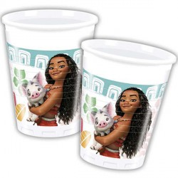 MOANA PLASTIC CUPS (8CT X 6 PACKS)