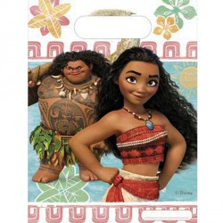 MOANA PARTY BAGS (6CT X 6 PACKS)