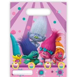 TROLLS PARTY BAGS (6CT X 48 PACKS)