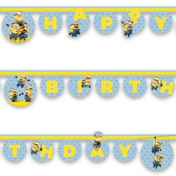 MINION BIRTHDAY BANNER (1CT X 12 PACKS)