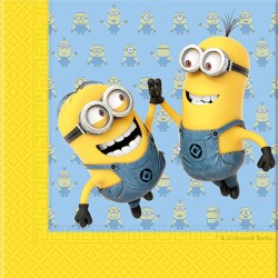 MINION NAPKINS (20CT X 30 PACKS