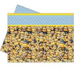 MINION TABLE COVER (1CT X 12 PACKS)