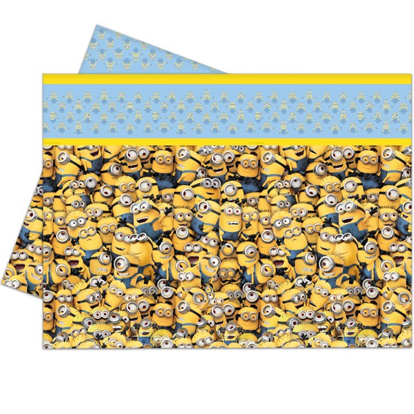 225 & MINION TABLE COVER (1CT X 6 PACKS) - Balancebest