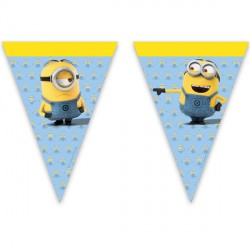 MINION TRIANGLE FLAG BANNER (1CT X 24 PACKS)