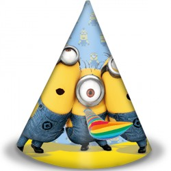 MINION PARTY HATS (6CT X 24 PACKS)