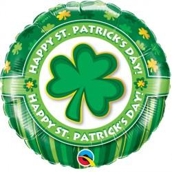 "HAPPY ST. PATRICK'S DAY! 18"" PKT IF"