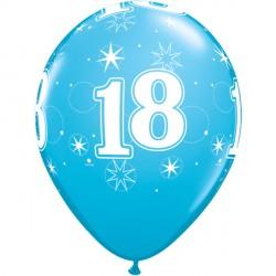 "18 SPARKLE-A-ROUND 11"" ROBIN'S EGG BLUE (6X6CT) YSJ"
