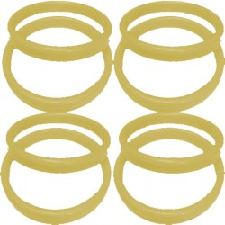 13G GOLD PLASTIC BANGLE WEIGHT 100CT
