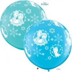 FROZEN ANNA, ELSA & OLAF 3' ROBIN'S EGG BLUE & CARIBBEAN BLUE (2CT)