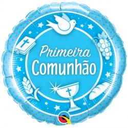 """COMUNHAO AZUL 18"""" PKT (5CT)"""